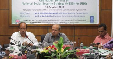 Orientation Seminar on National Social Security Strategy (NSSS) for UNOs in Mymensingh Division
