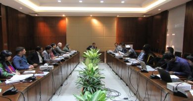 Third Meeting of the NSSS M&E Committee held on 4 February 2019