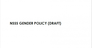 NSSS Gender Policy (Draft)