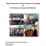 Rapid Assessment of Social Protection Knowledge of  UP Chairman, Secretary and Members