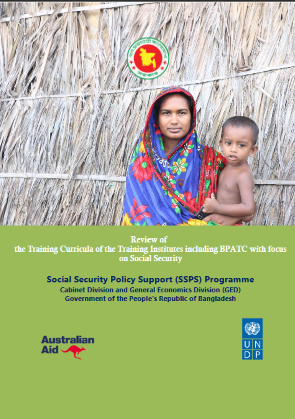 Review of the Training Curricula of the Training Institutes including BPATC with focus on Social Security