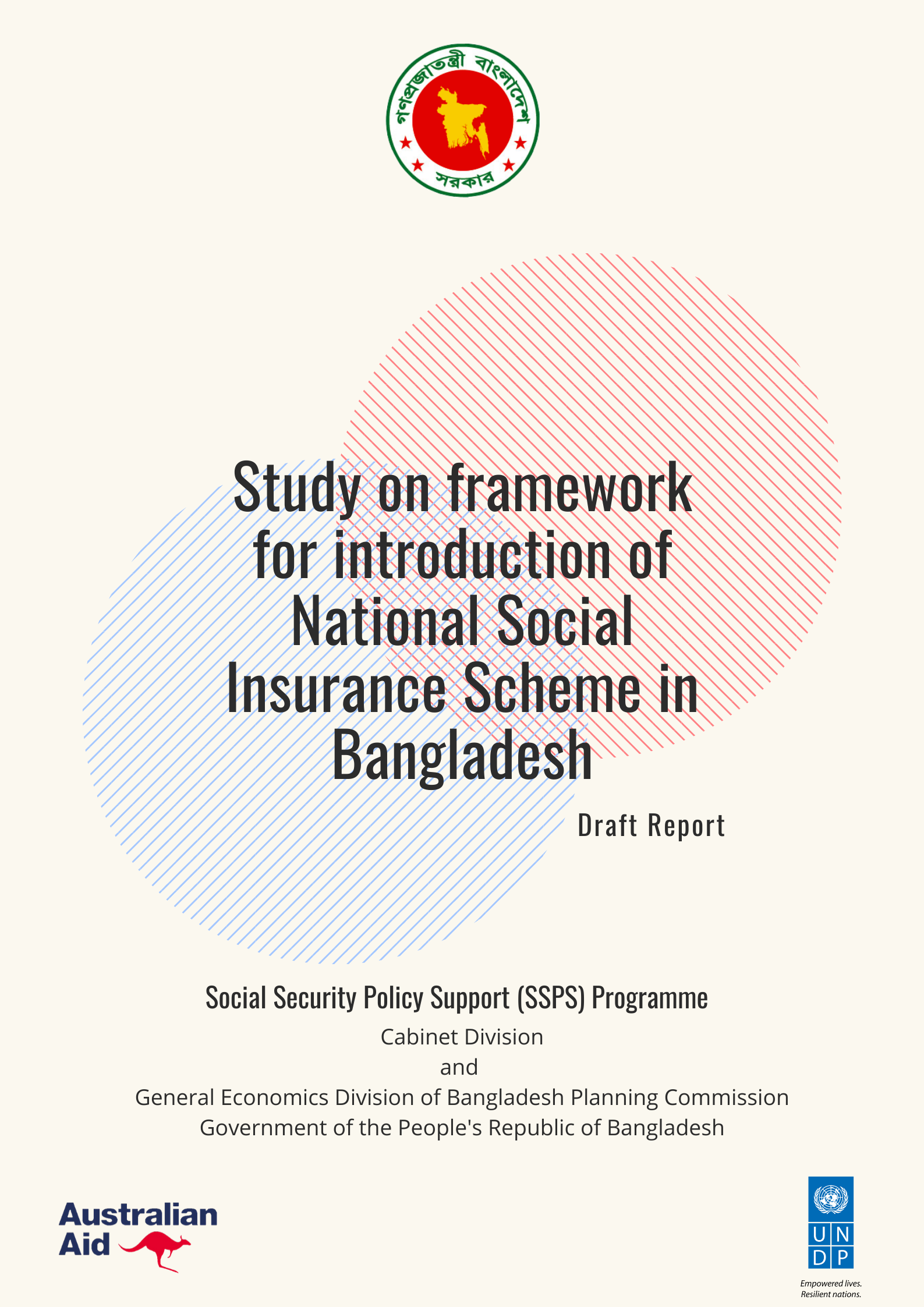 Study on Framework for Introduction of National Social Insurance Scheme in Bangladesh - Draft Report
