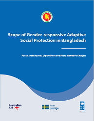 Scope of Gender-responsive Adaptive Social Protection in Bangladesh (Draft)